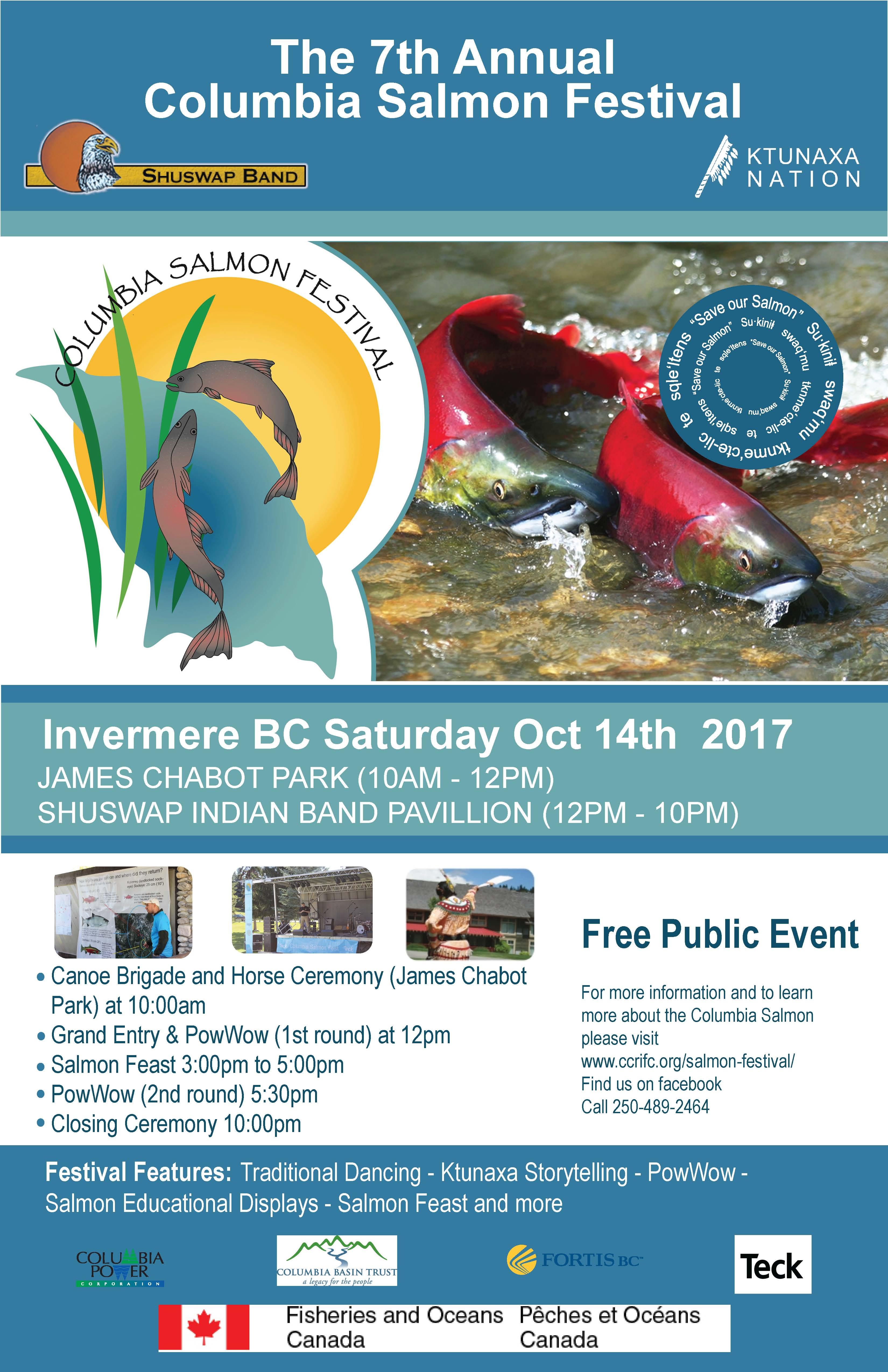 Salmon Festival Poster 2017